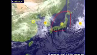冬・梅雨・真夏・春(秋)の雲画像と天気図をどう見分けるか、説明します。
