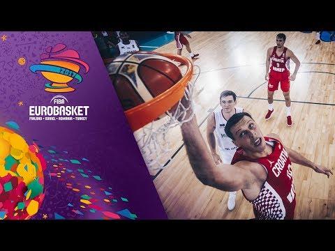 Hungary v Croatia - Full Game - FIBA EuroBasket 2017