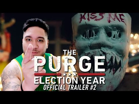 The Purge: Election Year Official Trailer #2 REACTION!!!