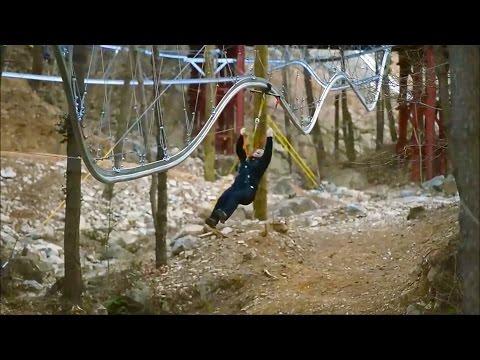 "This ""Roller Coaster Zipline"" looks INSANE!!!"