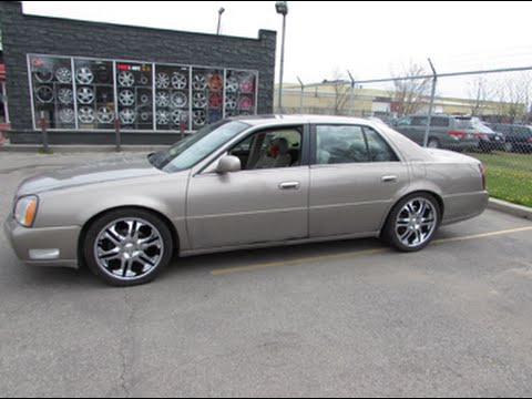 2000 Cadillac Deville Riding On 20 Inch Chrome Rims Amp Tires