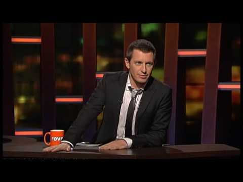 John Mayer using Twitter on ROVE (Australia) - How to get free Halloween candy!