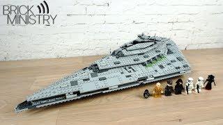 Обзор LEGO 75190 Star Wars ● Звездный Разрушитель Первого Ордена