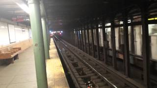 IRT Broadway-Seventh Avenue Line: Downtown & Uptown R142 & R62 (2) (3) Trains @ 116 Street-Lenox