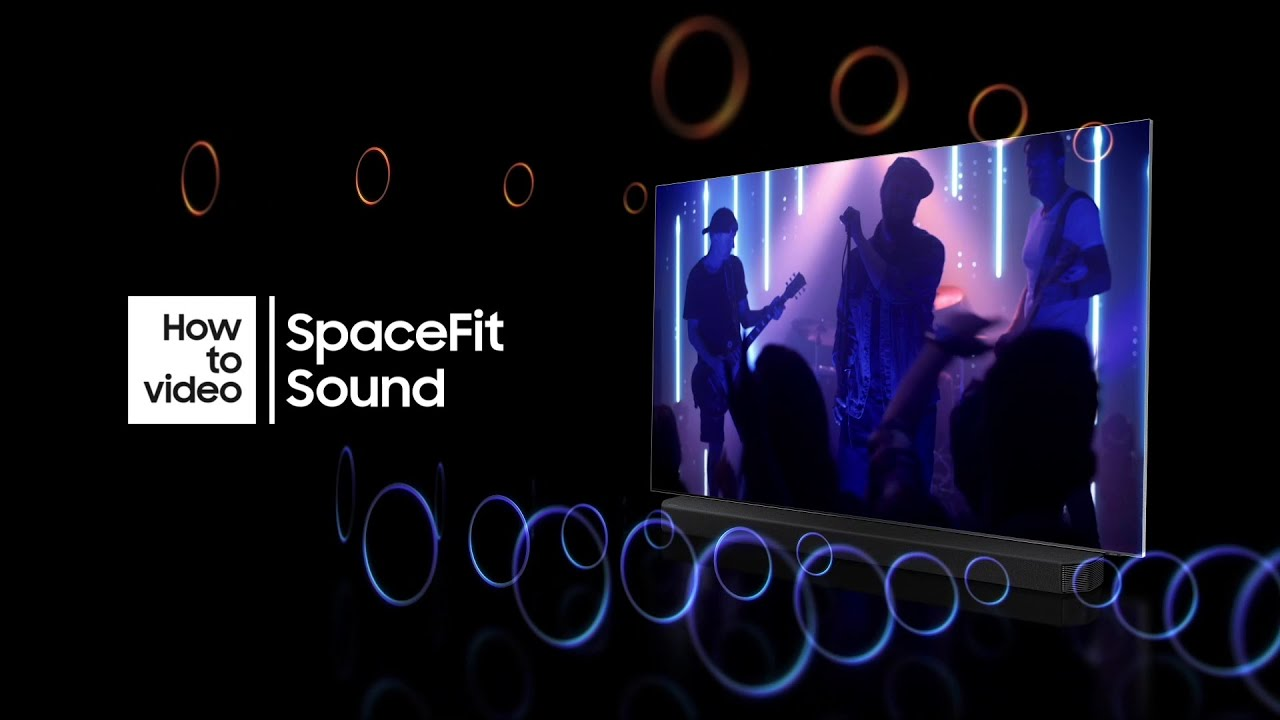 How to optimize sound with SpaceFit Sound and Neo QLED | Samsung