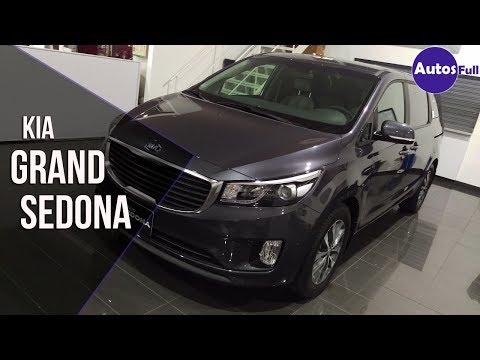 Kia Grand Sedona 2017 | Revisión