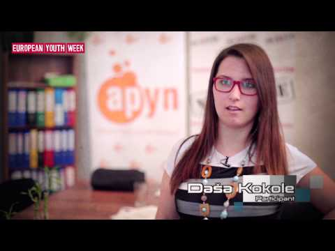 EYW 2015 Youth Project Awards - European Alcohol Youth Policy Conference, Slovenia
