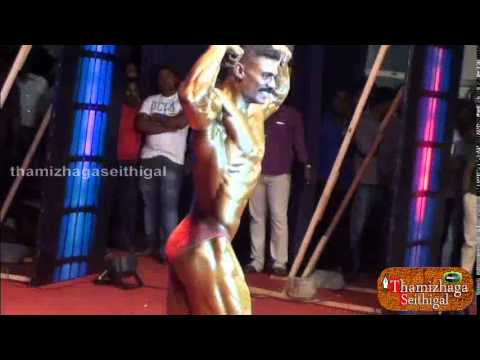 Actor Siyan Vikram Spends Time With The Real Bodybuilders of