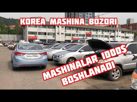 Korea Mashina Bozori, Mashinalar 1000$ Dan Boshlanadi #5