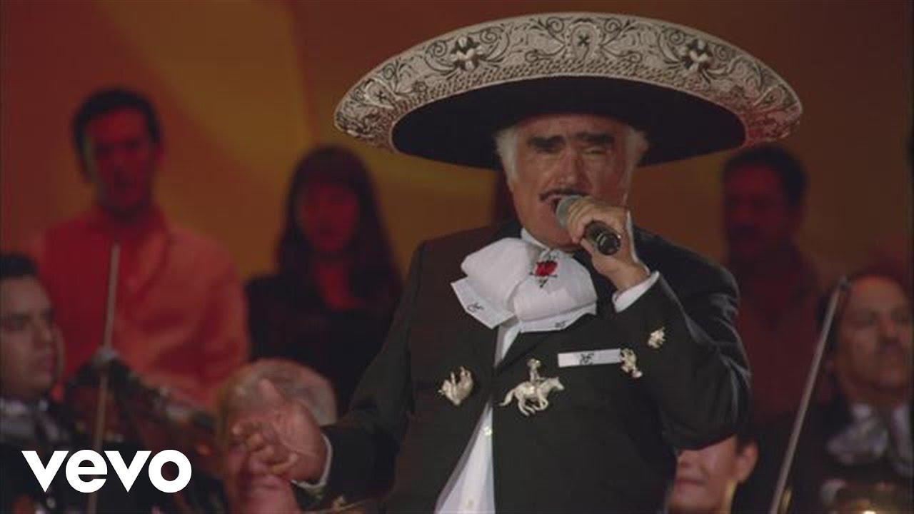 Vicente Fernandez - La Diferencia - Video Official HD 2013