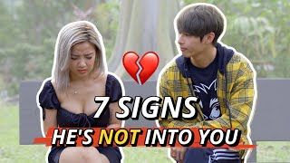 7 Signs He's Not Into You