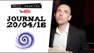 Journal 20/04/18 - hypnose, CNC et Gomme à effacer