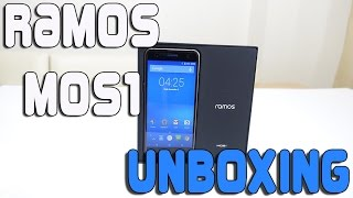 rAMOS MOS1 Unboxing & First Look (Cheap Smartphone)