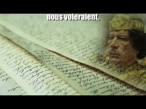 Testament de Kadhafi rédigé le 5 avril 2011   FR