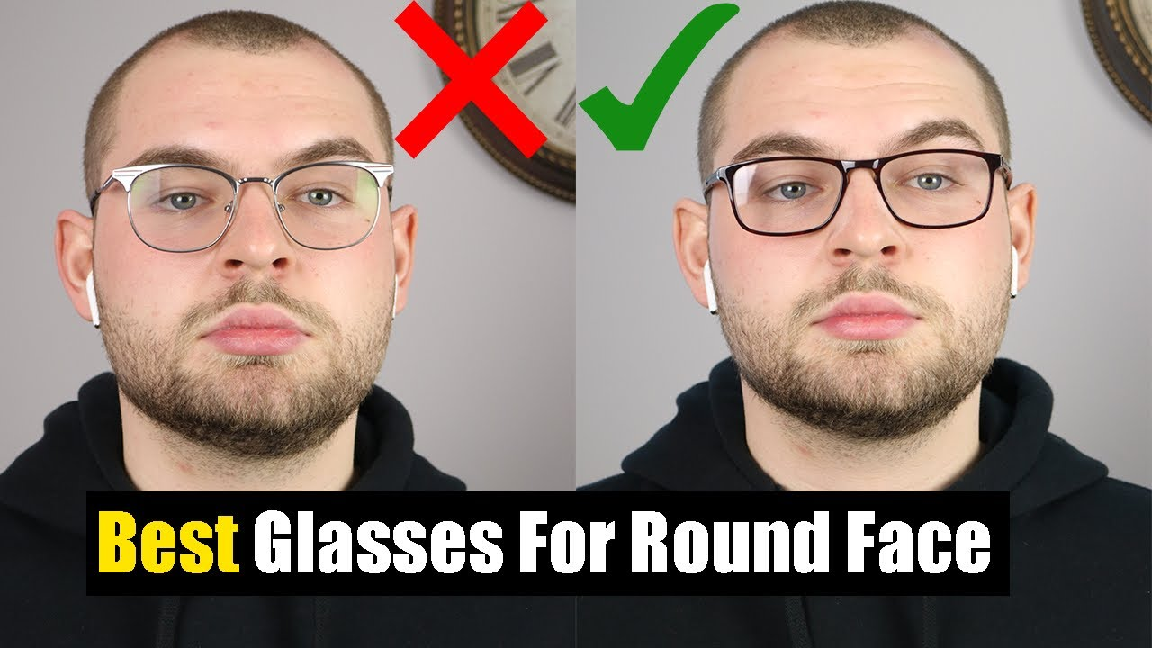 Best Glasses For Round Face Shape 3 Best Frames For Round Face Youtube