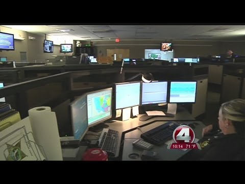 Why was Charlotte County's 911 system down Thursday night?
