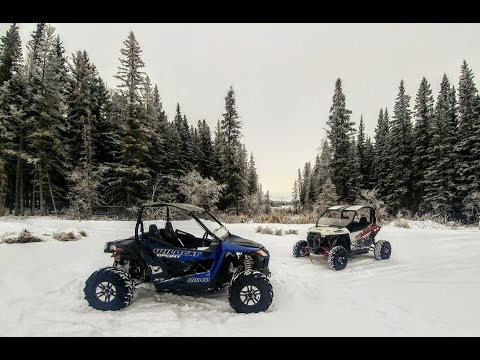 Off-Roading Cold Lake, Alberta
