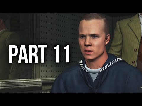 LA Noire Remastered Gameplay Walkthrough Part 11 - THE WHITE SHOE SLAYING