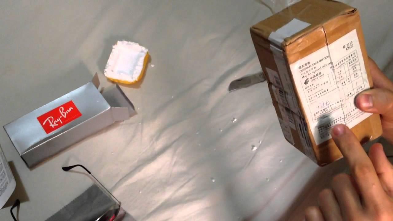 unboxing ray ban wayfarer aliexpress