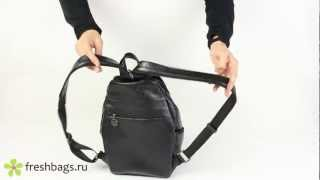 Женский городской рюкзак Alliance 1-2827-354 - www.FreshBags.ru(Удобный женский рюкзак из искусственной кожи Alliance 1-2827-354. Популярная недорогая модель., 2013-01-27T10:10:28.000Z)