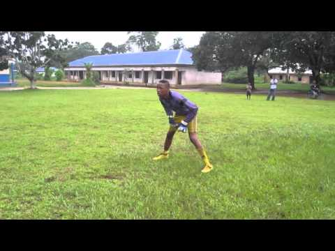 15 year old goalkeeper (Gideon) from L & M Football Academy Nigeria (part 1)