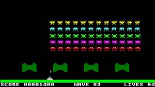 AMIGA INVASION CLASSIC SPACE INVADERS CLASSIC ARCADIA & BABY ARCADIA OCS 1994 Alternative h Delirium