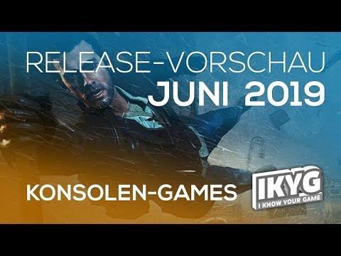 Games-Release-Vorschau - Juni 2019 - Konsole