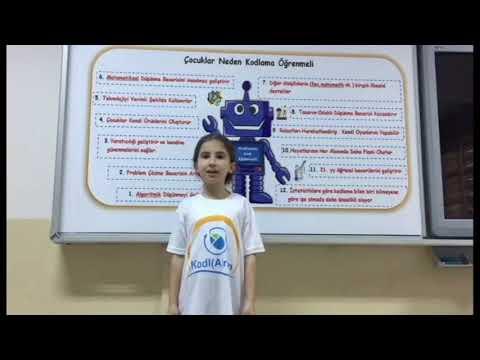KodlArsin Maker Öğrenciler gururla sunar- çocuklar neden kodlama öğrenmeli?