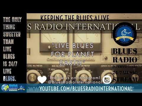 Blues Radio International 24/7 Live Music Stream