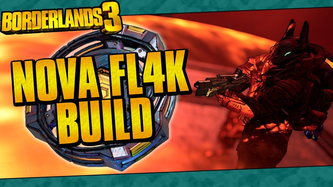 Borderlands 3 | Nova FL4K Build (Best Mayhem 10 Nova Build!) thumbnail