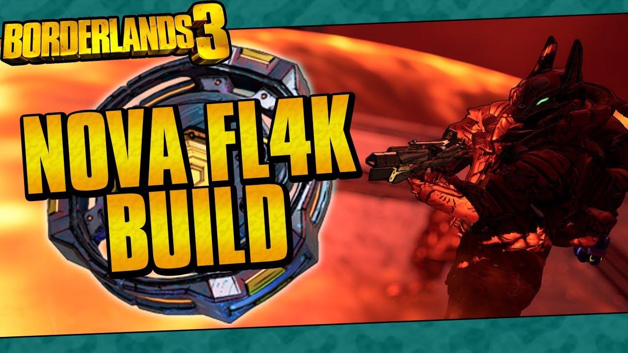 Borderlands 3 | Nova FL4K Build (Best Mayhem 10 Nova Build!) thumbnail