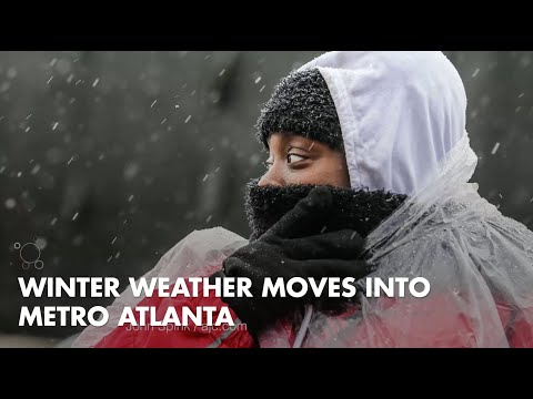 Winter weather moves into Metro Atlanta