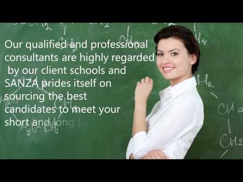 Sanza Teaching Agency: Providing Only Top-Notch Teachers