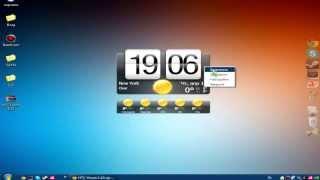 Как сделать часы на рабочий стол в стиле телефона htc[Видео Урок#2](Ссылка на часы: http://yadi.sk/d/5m7sa1Jo49Wvy., 2013-04-18T15:33:58.000Z)