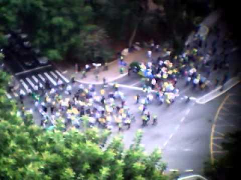 Protest against the communist president of Brazil