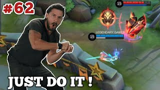 300 IQ Mobile Legends Funny OMG MOMENTS EP 62 | Flying Ling vs Aldous Ulti Who will win ?