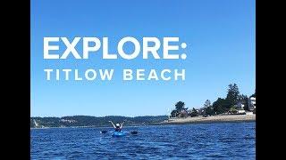 Kayaking at Titlow Beach, Tacoma