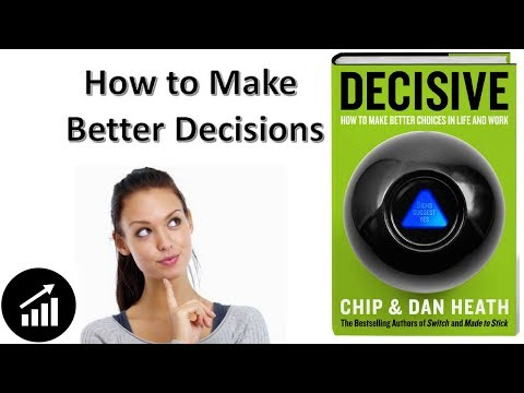 #71 - Decisive: How to make better choices in life and work - Book Review