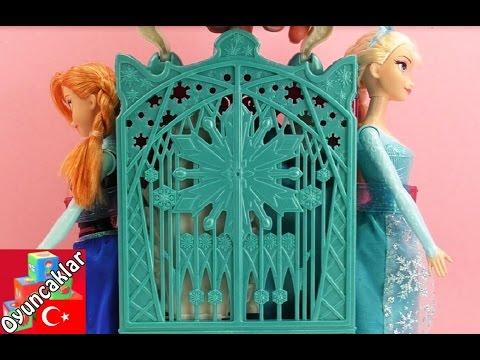 Karlar Ülkesi Frozen: Karlar Kraliçesi Elsa Ve Anna Için Dolap 3.Bölüm! - Oyuncak Bebek Tanıtımı!