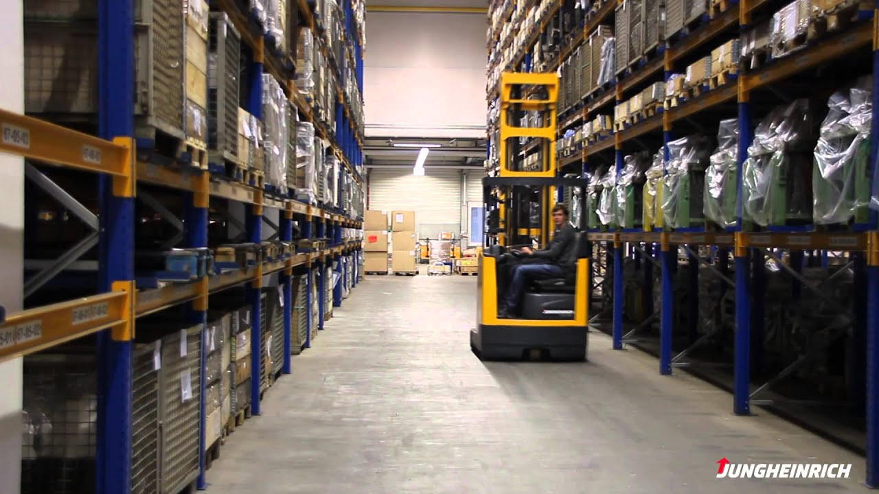 Etv Reach Truck Option Warehouse Control En Youtube