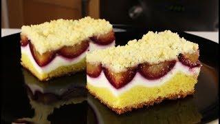 Готовлю РАЗ в год! Баварский пирог со сливами и творогом! Это восхитительно!