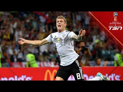 Kroos scores LEGENDARY WINNER to lift Germany to victory