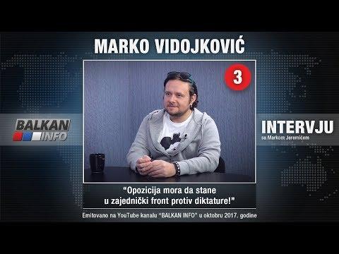 INTERVJU: Marko Vidojković - Opozicija mora da stane u zajednički front protiv diktature (4.10.2017)