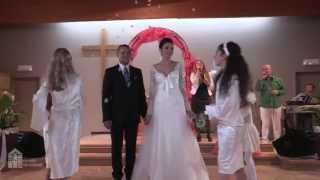 Церемония венчания Даниэля и Инны