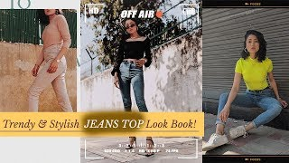 JEANS TOP Look Book(Trendy & Stylish) |SUMMER| SONIA GARG