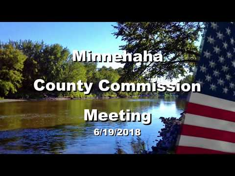 Minnehaha County Commission Meeting - June 19th, 2018
