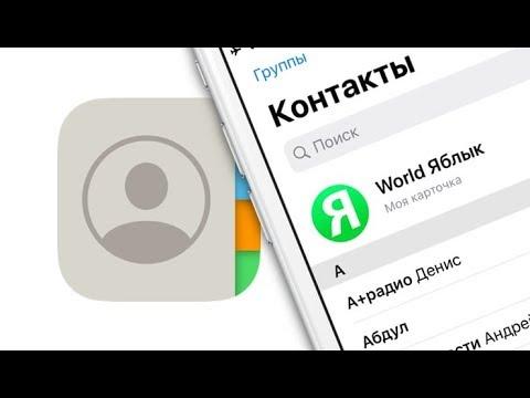 Как скопировать (перенести) контакты с iPhone на компьютер | Яблык