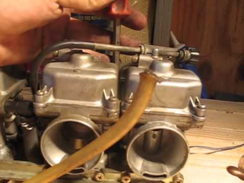 How to clean motorcycle carbs 1/3