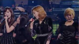 [HD]Girls' Generation/SNSD @David Letterman ('The Boys' Live Remix)