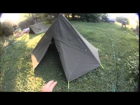 gear review military shelter half and polish lavuu & gear review military shelter half and polish lavuu - YouTube
